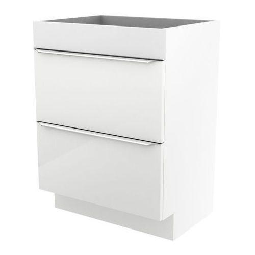 Goodhome Szafka pod umywalkę imandra stojąca 60 cm biała (3663602932949)