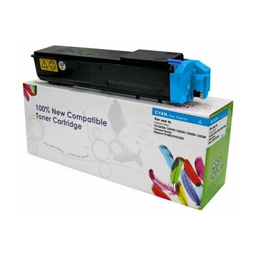 Toner cyan kyocera tk500/tk510/tk520 zamiennik tk-500c/tk510c/tk520c, 8000 stron marki Cartridge web