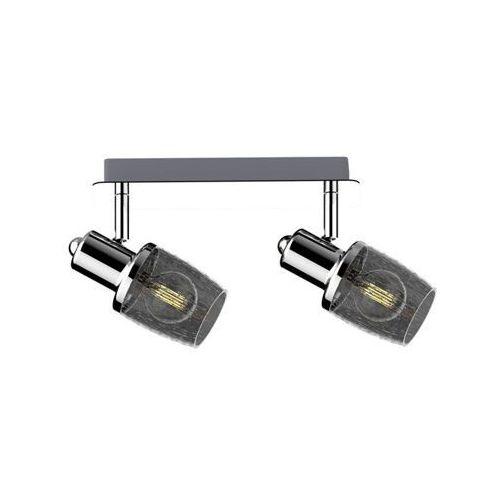 Zuma line poso ck180612-2 listwa lampa sufitowa spot 2x40w e14 srebrny (2011006536323)