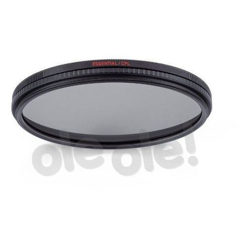 Filtr Manfrotto Essential circular Pol 58 mm (MFESSCPL-58) Darmowy odbiór w 20 miastach!, MFESSCPL-58