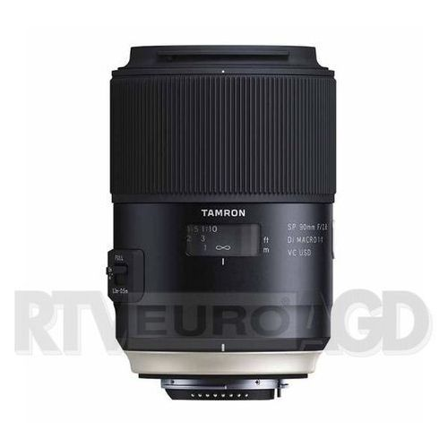 sp 90mm f/2.8 di vc usd macro canon - produkt w magazynie - szybka wysyłka! marki Tamron