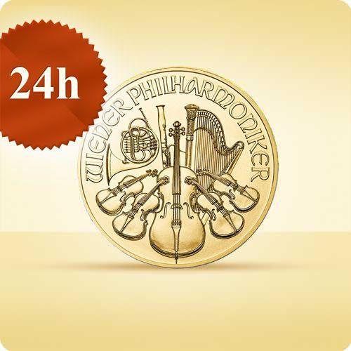 Münze Österreich Wiedeńscy filharmonicy 1 uncja złota - wysyłka 24 h!