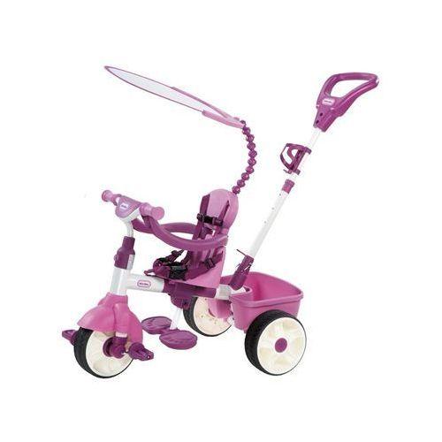 Little tikes Lt rowerek trójkołowy 4 w1 różowy (0050743634307)