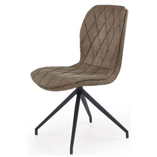 Producent: profeos Stylowe tapicerowane krzesło gimer - beżowe