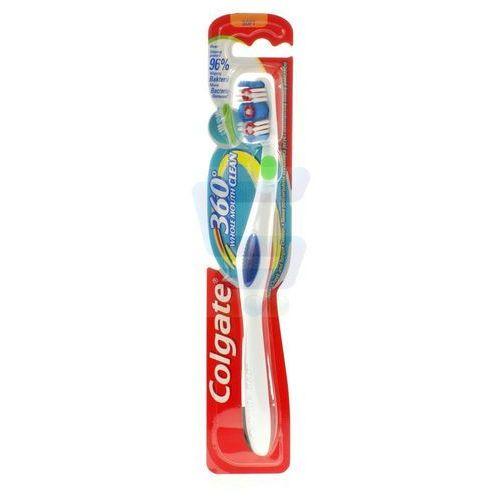 Colgate  360 whole mouth clean miękka  do zębów