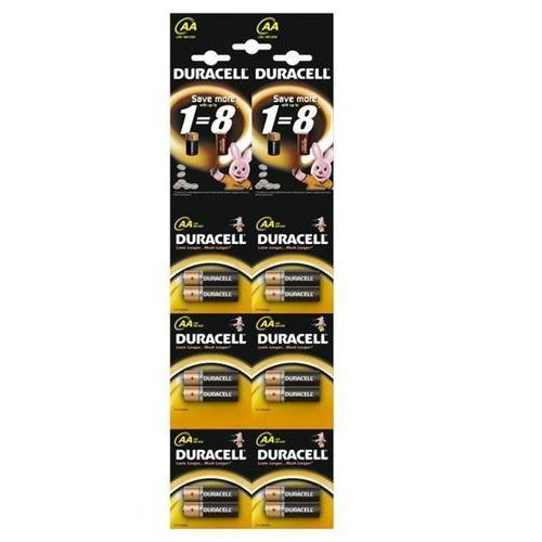 Baterie alkaliczne Duracell Duralock Basic C&B LR6 AA (blister) 12 sztuk