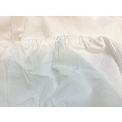 Prześcieradło hotelowe lux na gumkę180x200 cm 100% bawełna egipska marki Slevo