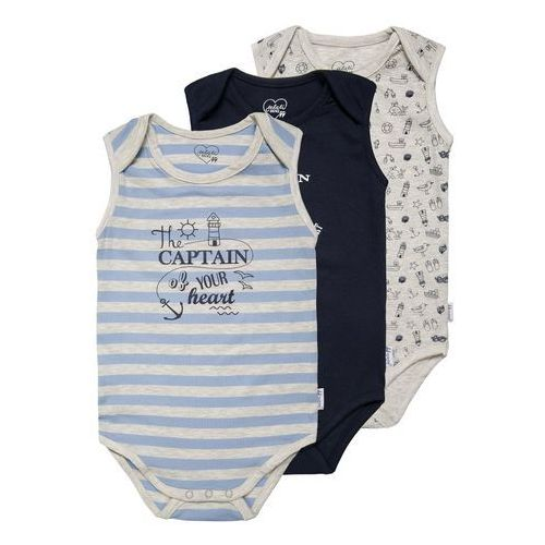 Gelati Kidswear SEASIDE 3 PACK Body multicolor - produkt z kategorii- Body niemowlęce