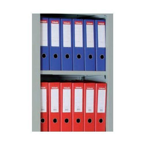 Półka do szafy z drzwiami żaluzjowymi, 1000 x 450 mm, szara