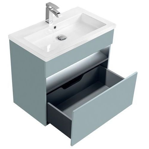 Szafka pod umywalkę 80 cm BAHAMA MINT 821, CD-0041
