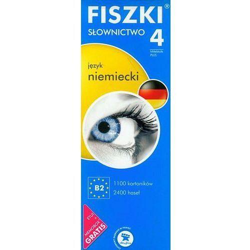 Język Niemiecki. Słownictwo 4. Fiszki, praca zbiorowa