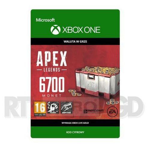 Apex Legends - 6700 monet [kod aktywacyjny] Xbox One (8806188745427)