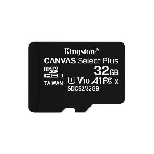microsdhc 32gb 100mb/s sdcs2/32gbsp marki Kingston
