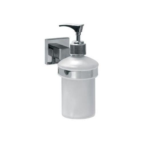Bisk Dozownik do mydła w płynie arktic 0,2 litra znal + szkło matowe chrom