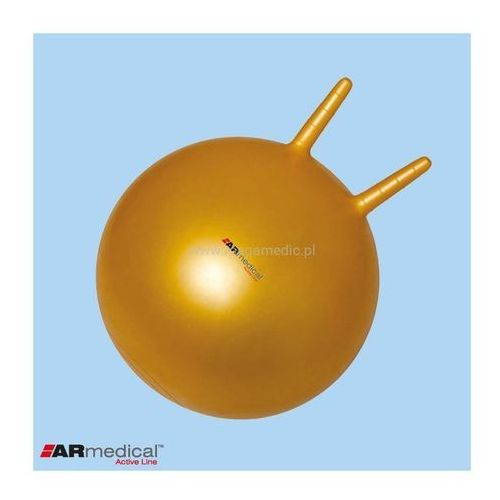 Piłka rehabilitacyjna HOPPER z rogami 45 cm 130-140cm