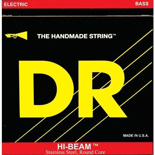 hi-beam - struny do gitary basowej, 5-string, light,.040-.120 marki Dr