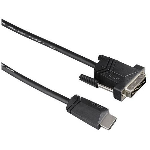 Hama kabel HDMI - DVI/D 3m, 001221310000