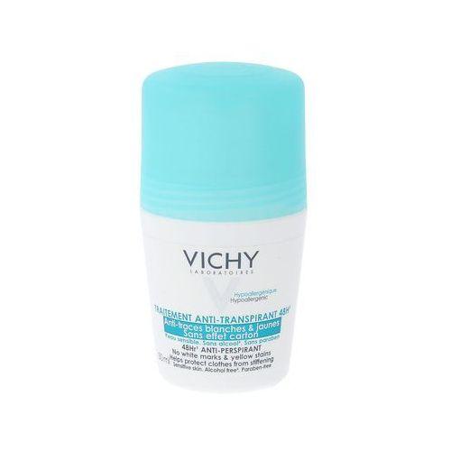 deodorant roll-on, 50 ml, kuracja przeciw nadmiernemu poceniu, 48-h skuteczność marki Vichy