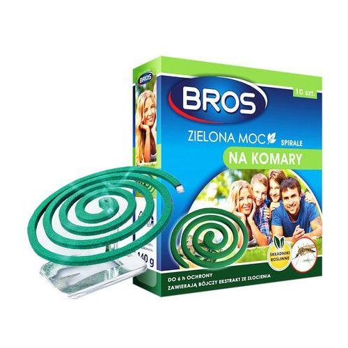 BROS 10szt Zielona moc Spirale na komary, BR 953