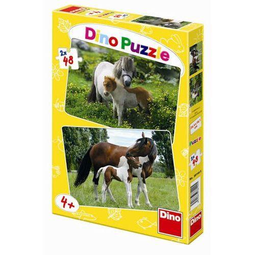 Neuveden Poníci a koníci - puzzle 2 motivy v bale