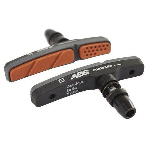 Red Cycling Products Anti-Lock Brake System Klocek hamulcowy v-brake 1-częściowy czarny Klocki hamulcowe rowerowe (4052406149193)