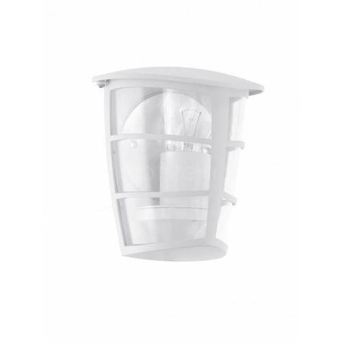 Eglo Aloria - kinkiet zewnętrzny biały (9002759934033)