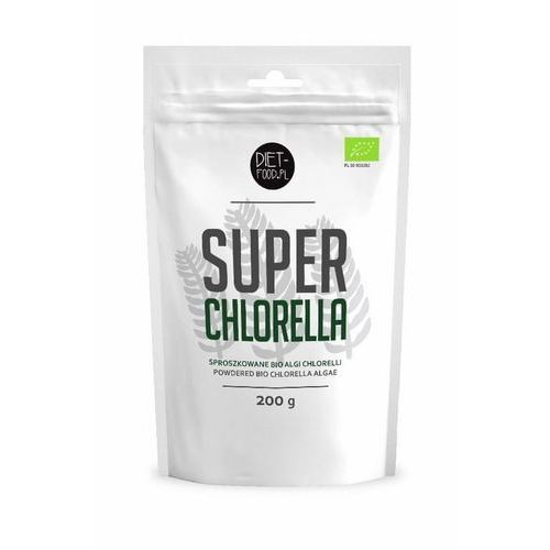 DIET-FOOD Bio Super Chlorella 200g, 2F6F-6819D