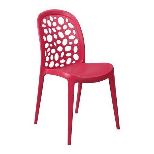 Krzesło Bladder czerwone, T_70ecd75c-4a46-43f3-b7d2-54aeab021db3