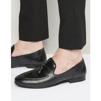tassel loafers in black leather - black marki Red tape