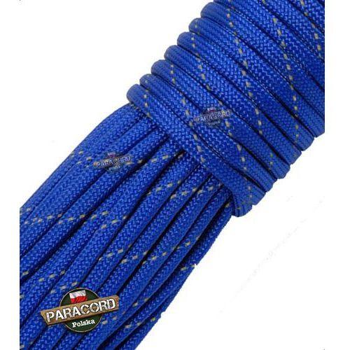 Paracord 550, kolor: Blue Reflective - linka spadochronowa z siedmioma rdzeniami