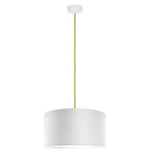 Klasyczna LAMPA wisząca MIKA L1/S/WHITE Sotto Luce abażurowa OPRAWA okrągła biała (1000000200195)