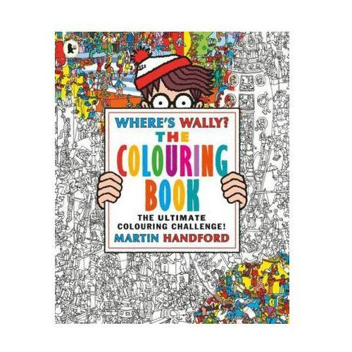 Where's Wally? The Colouring Book (9781406367300)