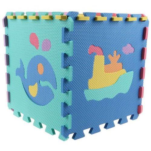 Alltoys puzzle piankowe - zwierzątka i pojazdy