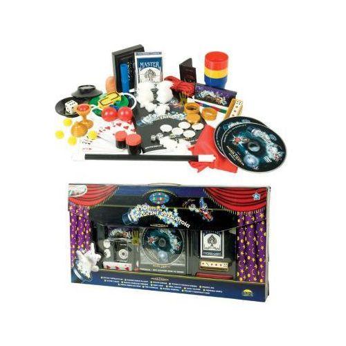Duży zestaw młodego magika - 150 sztuczek + dwa dvd!! marki Y. a. electric co., ltd.