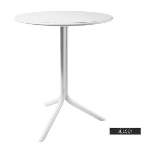 SELSEY Stół Chapena biały średnica 61 cm (5903025102641)