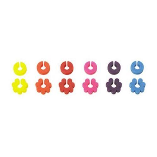 - silikonowe znaczki do kieliszków i szklanek (12 sztuk) marki Lurch