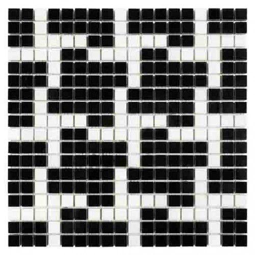 DUNIN B&W Black & White mozaika kamienna Pure B&W Star 15