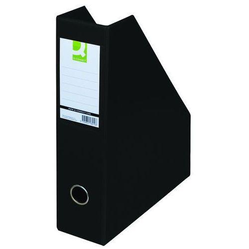 Pojemnik na dokumenty , pvc, a4/76, czarny marki Q-connect