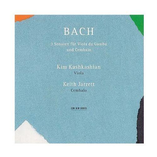 3 Sonaten For Viola Da Gamba Und Cembalo - Keith Jarrett, Kim Kashkashian z kategorii Muzyka klasyczna - pozostałe