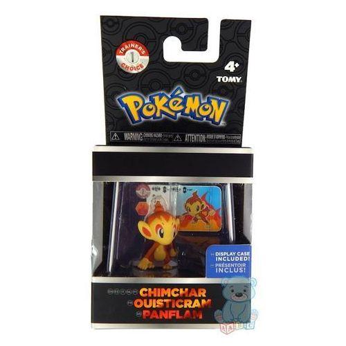 Tomy Pokemon chimchar figurka w gablotce