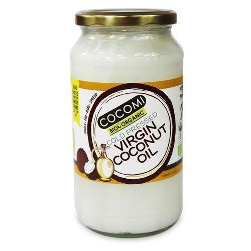 Olej kokosowy virgin bio 1 l - cocomi marki Cocomi (wody kokosowe, oleje kokosowe, śmietanki)