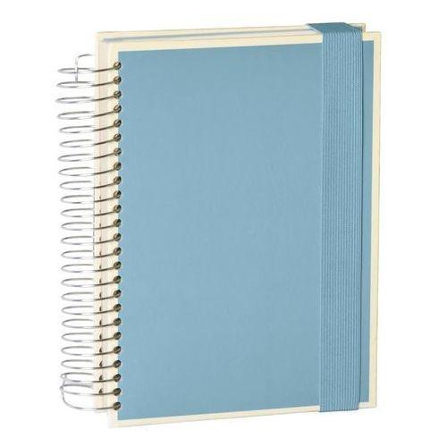 Notes Die Kante Mucho A5 spirala 3 w 1 błękitny