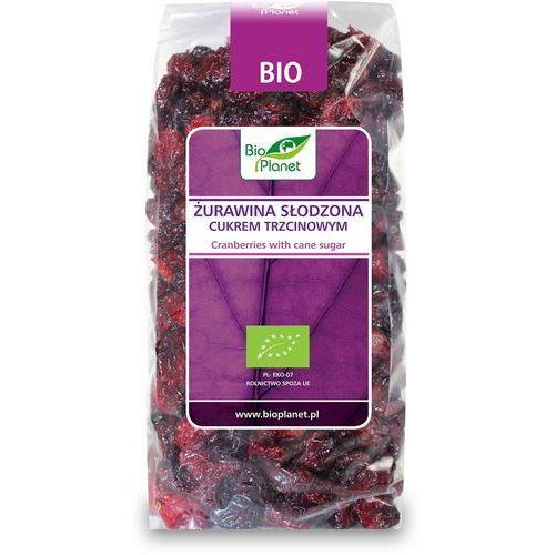 Żurawina słodzona cukrem trzcinowym bio 400g marki Bio planet