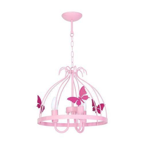 Decoland Lampa dziecięca motýl 3xe14/60w/230v