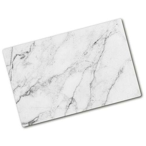 Deska kuchenna duża szklana Marmur