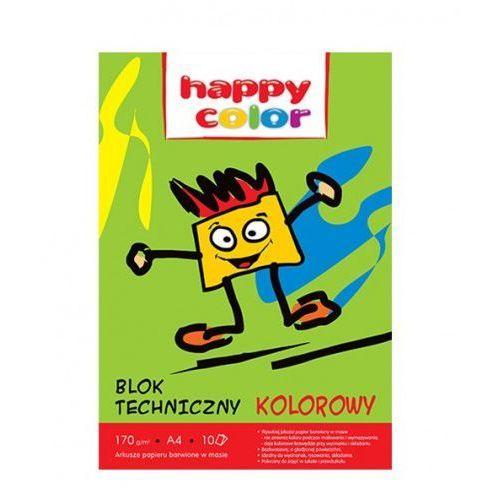 Happy color Blok techniczny kolorowy a3/10 - staedtler