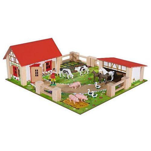 Eichhorn Drewniana mała farma 21 elementów - . darmowa dostawa do kiosku ruchu od 24,99zł (4003046043044)