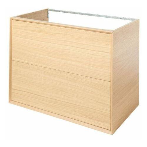 Szafka z szufladami pod umywalkę GoodHome Avela 80 cm drewno (5059340017884)