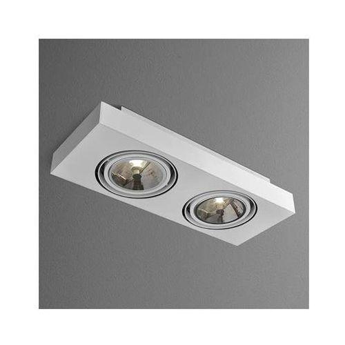 Downlight LAMPA sufitowa SLEEK 46613-0000-T8-PH-kolor Aqform prostokątna OPRAWA oczka natynkowe, 46613-03