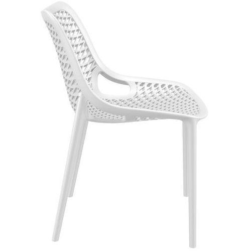 Krzesło Grid białe, D2-8577